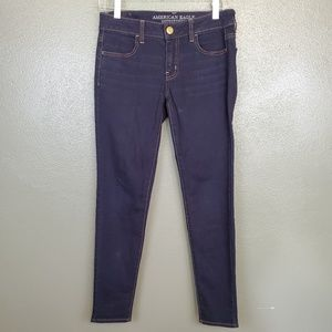 American Eagle Outfitters dark wash jegging (264)